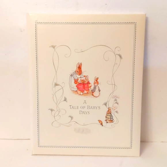 Beatrix Potter's A Tale of Baby's Days baby book